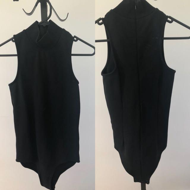 seed heritage black bodysuit