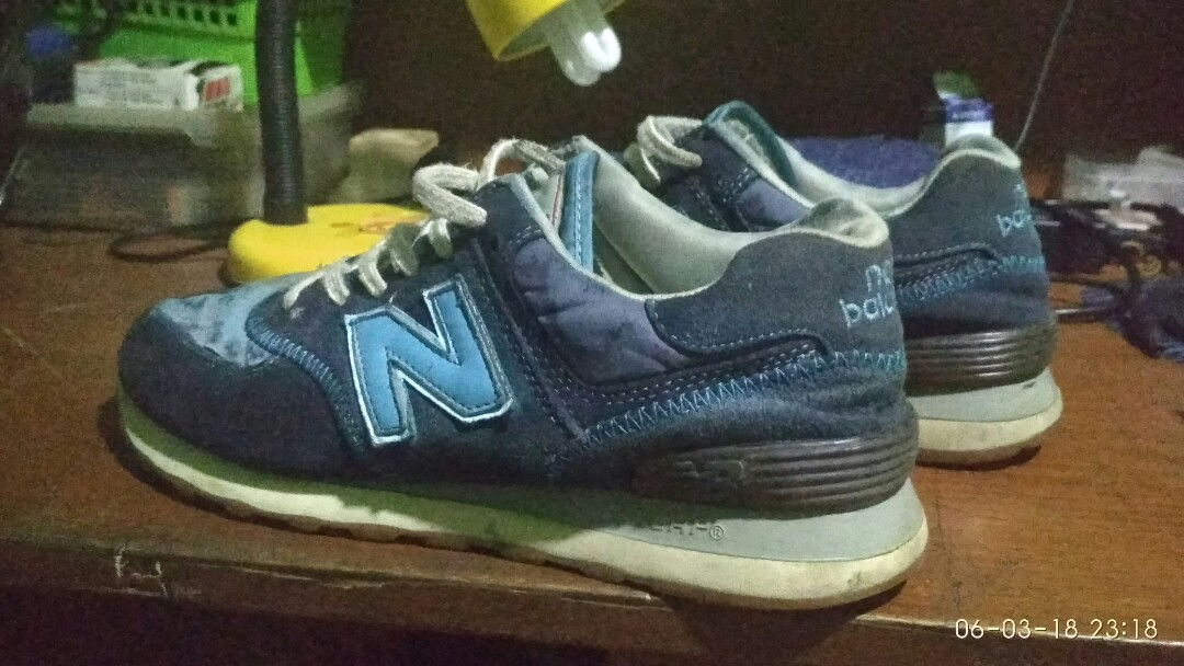 7d5050c968f Sepatu NB new balance 574 classic ORIGINAL, Men's Fashion, Men's ...