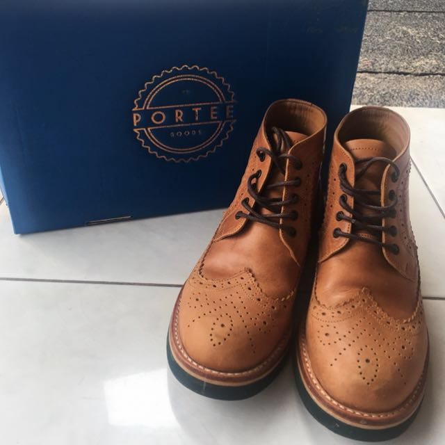 Sepatu Porteegoods (leather) Size 38 mulus 98% 30163bb9d5