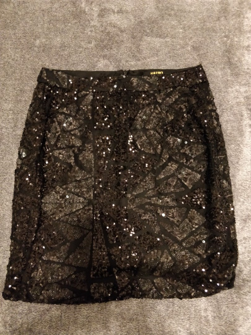 Sequin party skirt