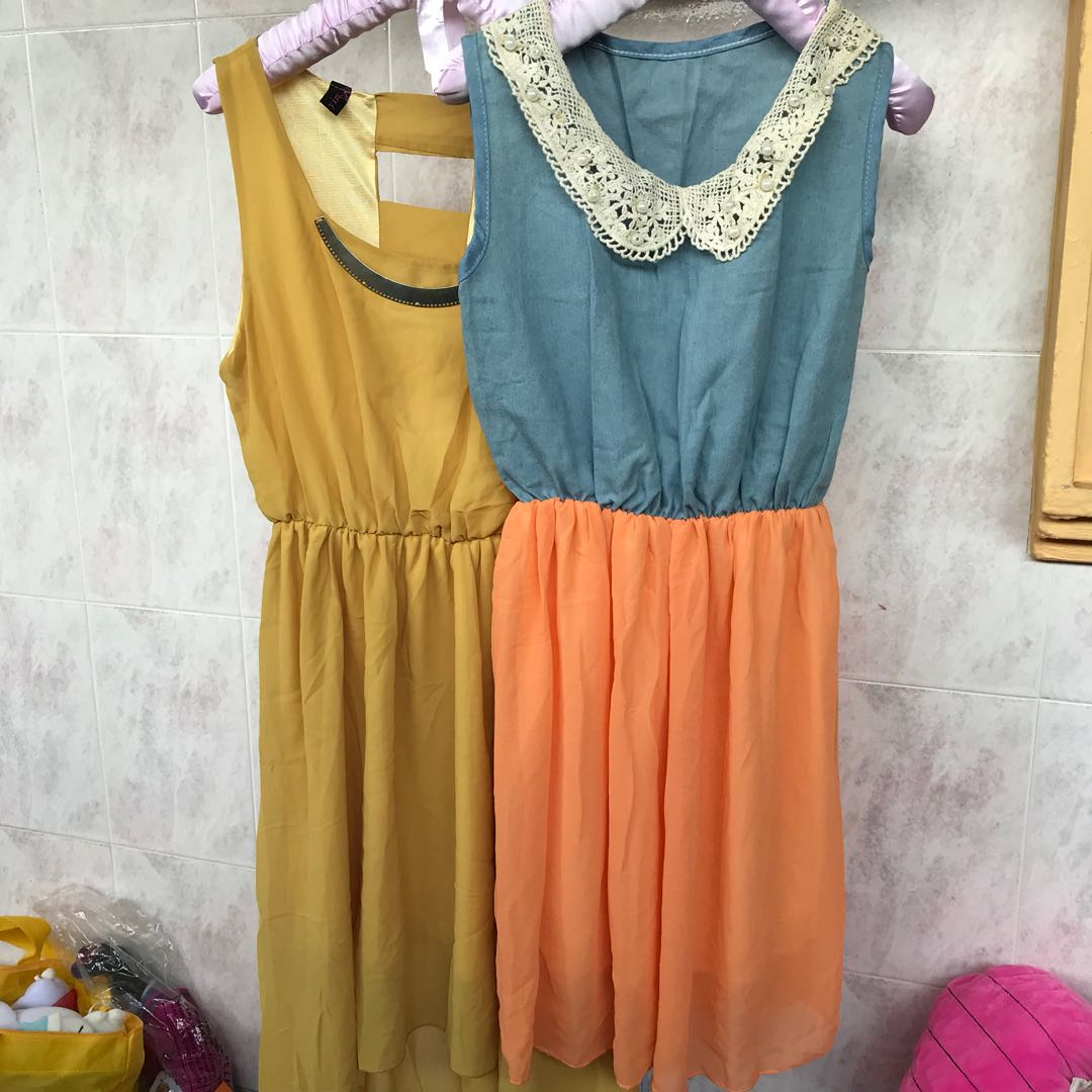 Set Chiffon Dress