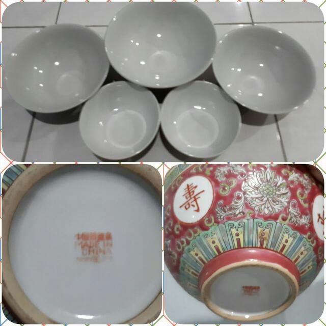 Set Mangkok Keramik