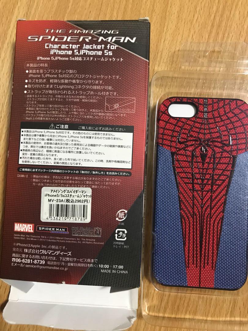 Spider man iphone 5/5s case