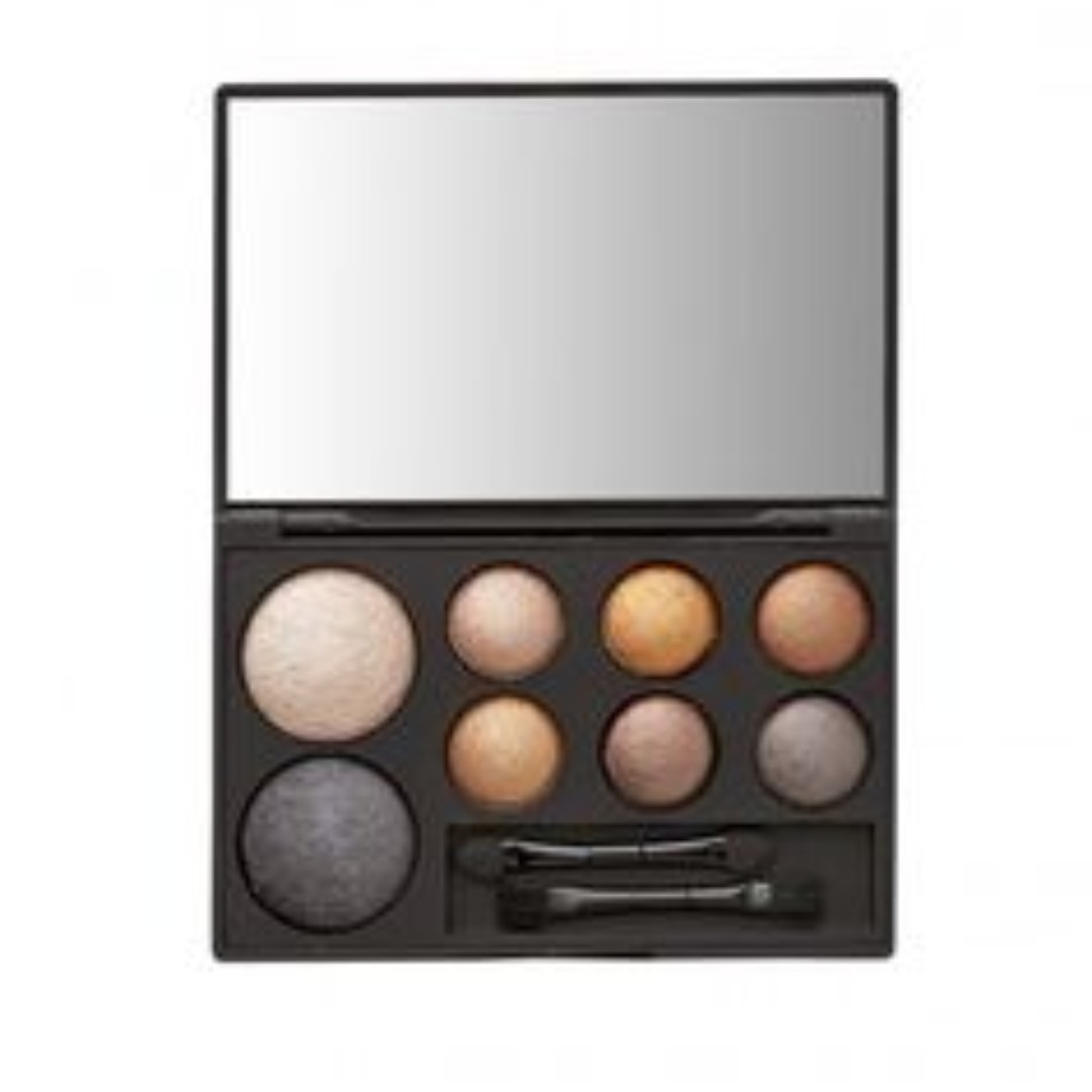 sportsgirl metallic edit cheek and eyeshadow palette