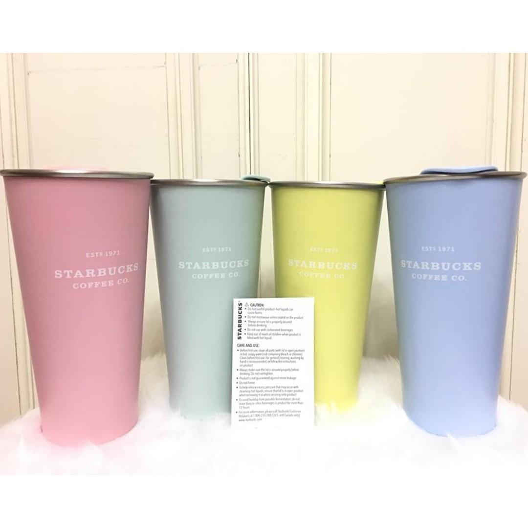 Starbucks Pastel Collection Tumbler 16oz 20%off