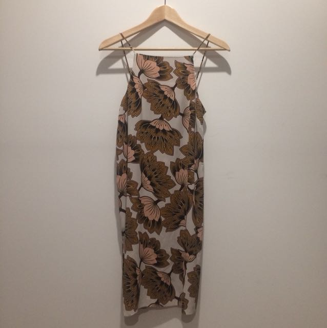 Summer floral dress size 10