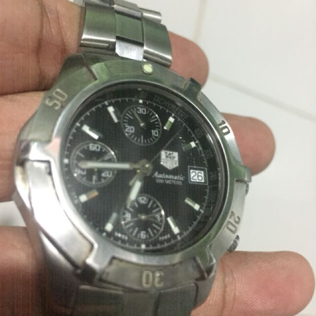 Tag heuer exclusive chronograph automatic