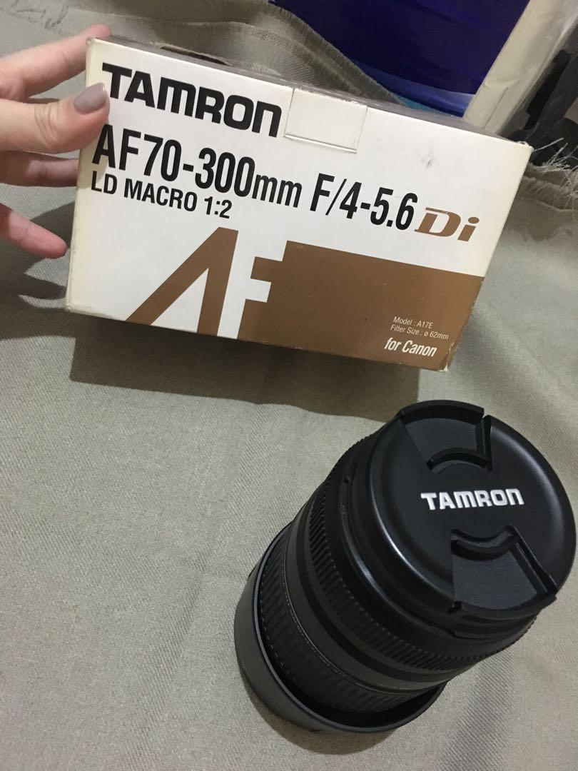 TAMRON AF70 - 300mm F/4-5.6