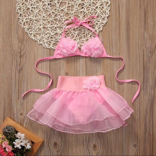 Tankini Pink Bikini Swimwear