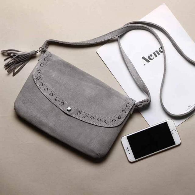 Tas kulit asli genuine leather sling selempang