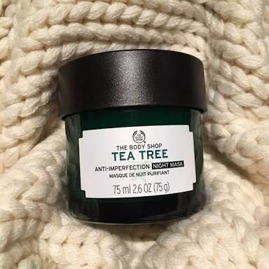 The Body Shop - Tea Tree Night Mask