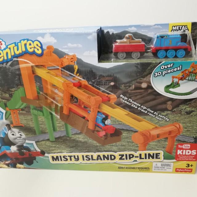 Thomas Misty Island Zip Line