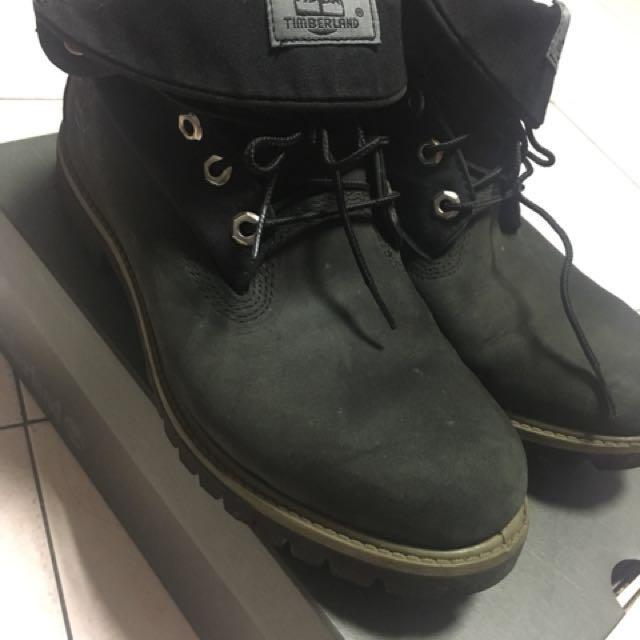 Timberland 反褶靴