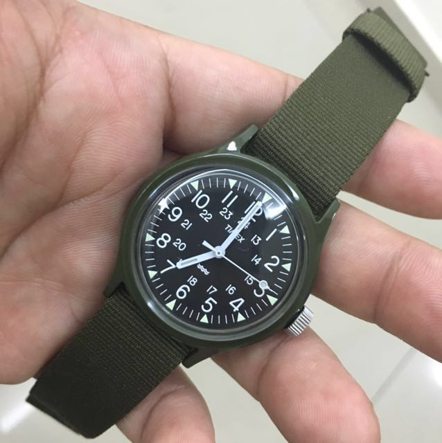 Timex MK1 MacGyver military watch