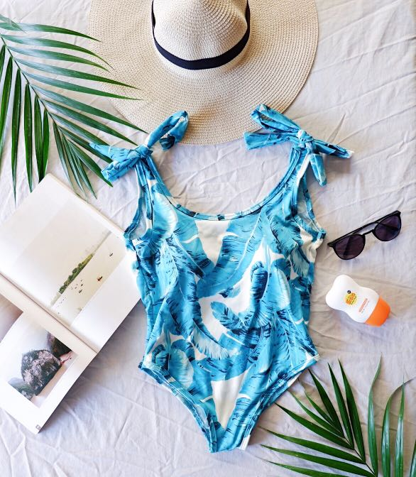 Tropical One Piece Swimsuit