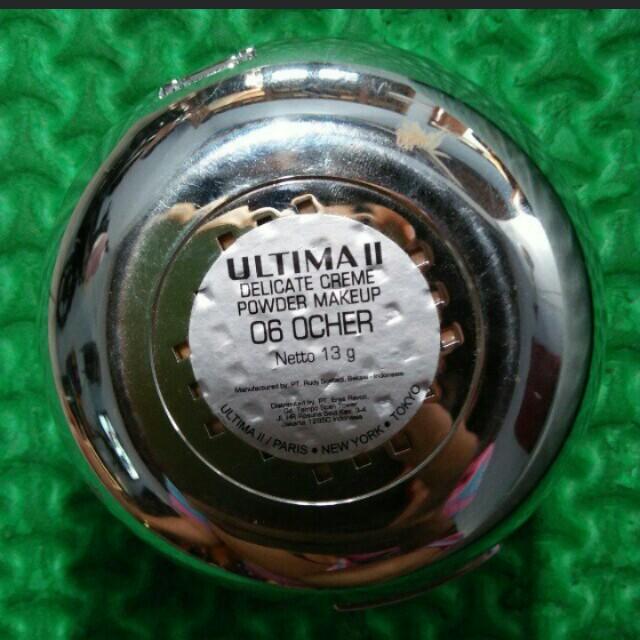 Ultima Delicate Cream Foundation Bedak