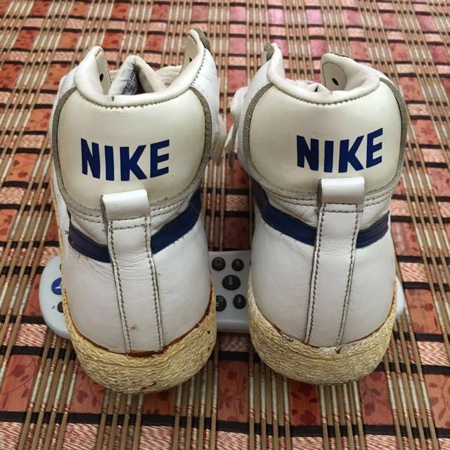 Vintage 1982 Nike Blazer Basketball Shoes Japan Made, Men's Fashion,  Footwear on Carousell
