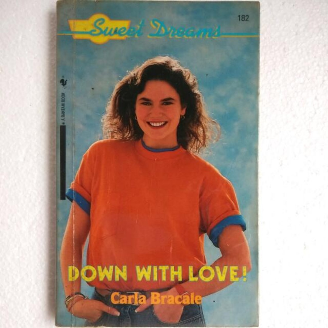 (Vintage Book) Sweet Dream #182 - Down With Love