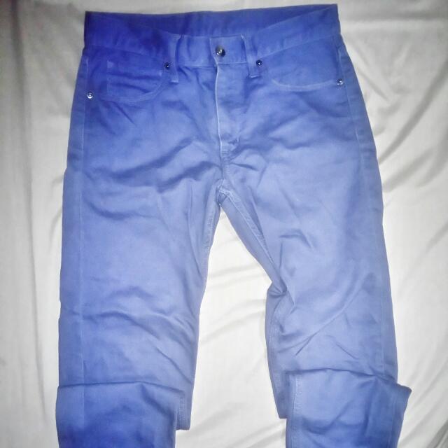 -Uniqlo- Violet Pants