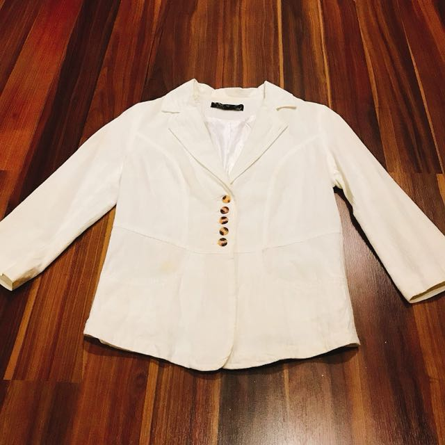 White Office Coat/Outer