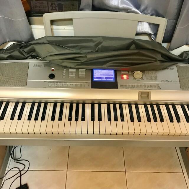YAMAHA DGX-505電子琴