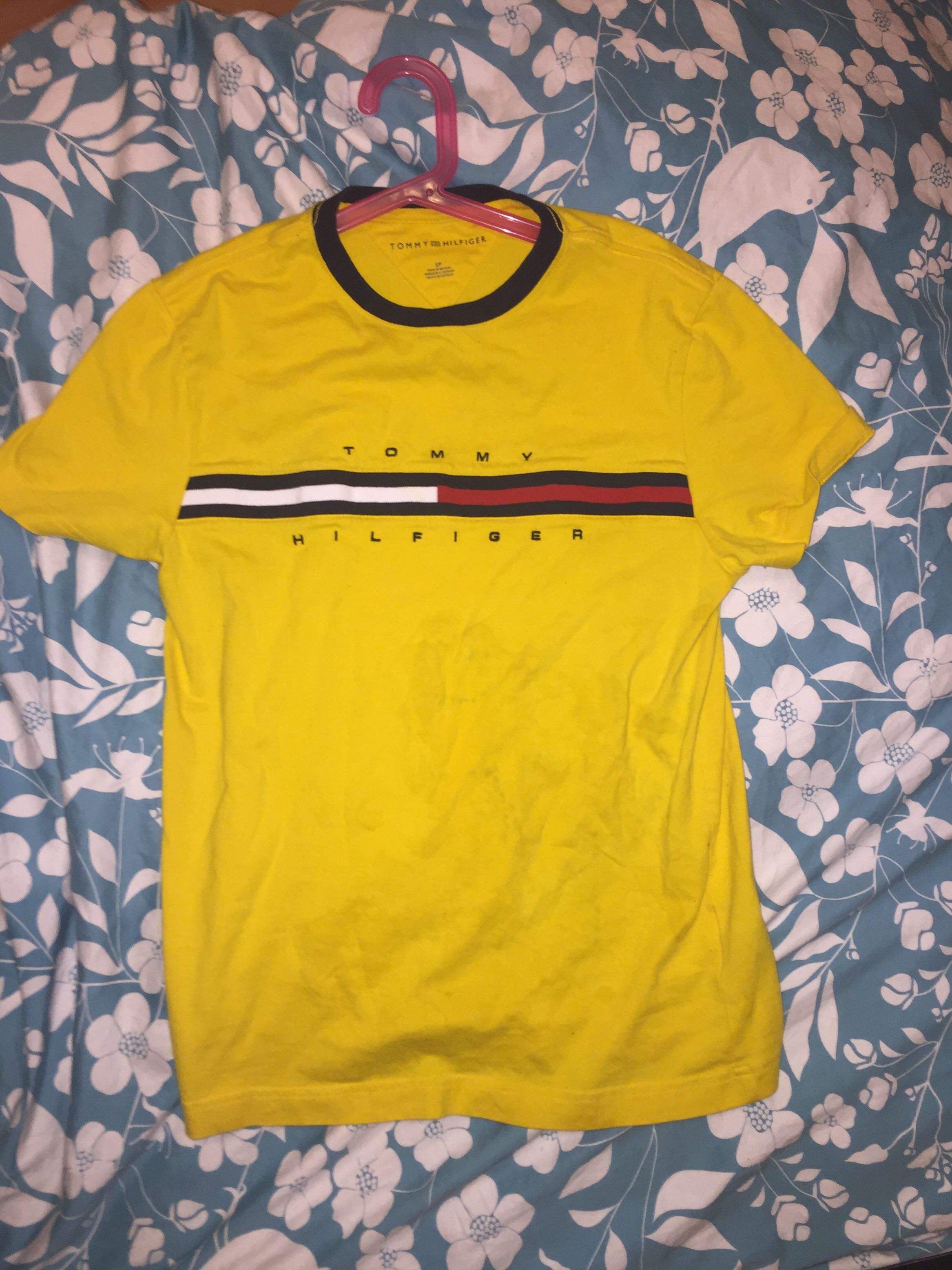 Yellow Tommy Hilfiger Logo Ter