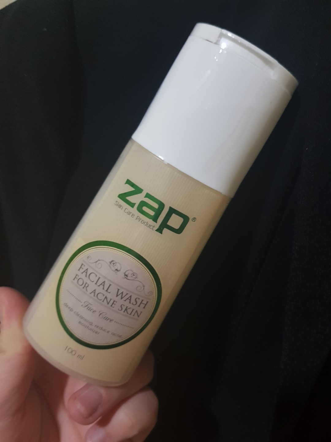 ZAP Facial Wash for Acne Skin