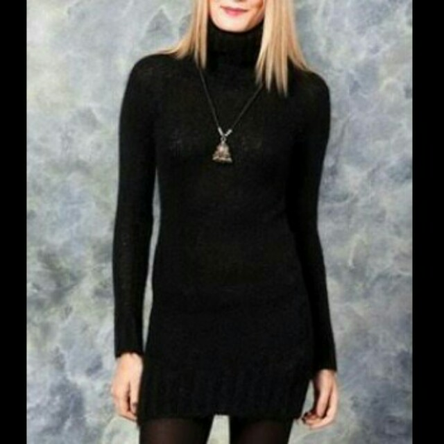Zara Knit Roll Neck Jumper/Dress
