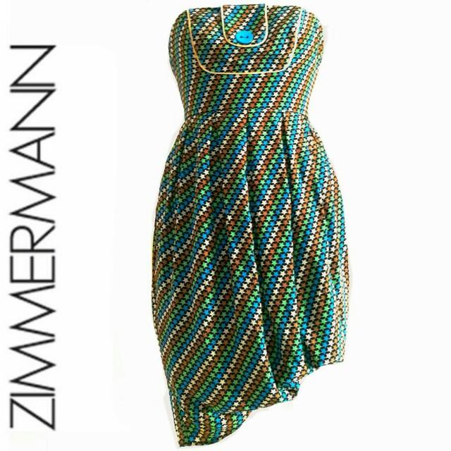 Zimmermann. Star dress.  Sz 0 fit 6