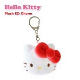 Hello Kitty EZ-Charm Plush Red Design