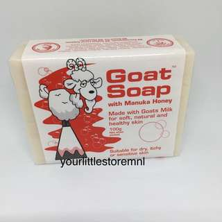 Goat Soap with Manuka Honey