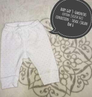 Baby GAP pants(3-6months)
