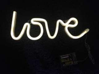 婚禮佈置/家居佈置/LOVE霓虹裝飾燈