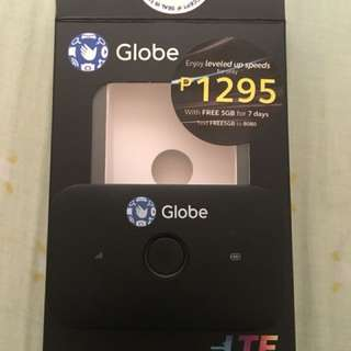 Globe Pocket Wifi latest model (1month used)