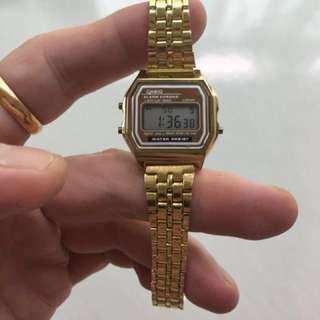 Casio Gold ladies watch