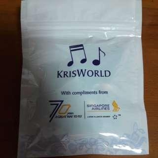 SIA Kris world ear piece