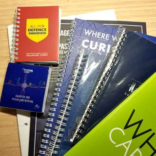 Foolscap & Notebooks