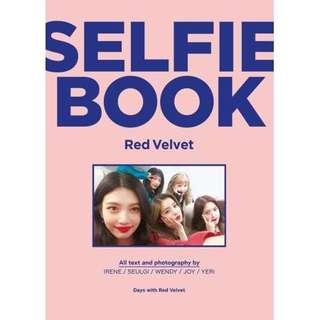 (PRE-ORDER) RED VELVET/ SELFIE BOOK: RED VELVET (BOOK)