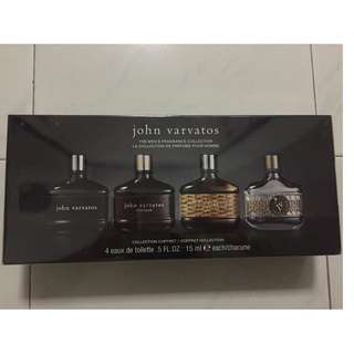 John Varvatos 4 Eaux de Toilette Men's Fragrance Collection