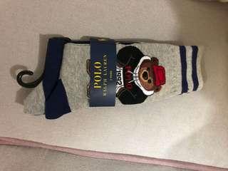 Ralph Lauren 限量版熊仔襪