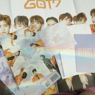 GOT7 FLIGHT LOG: DEPARTURE FLY ALBUM ONLY NO CD