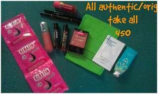 Take all lipcreams/tints