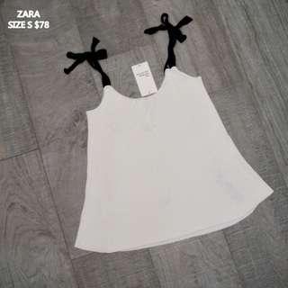 全部原價1-2折🛒全新貨ZARA針織縛帶背心🌸新貨200件以上