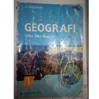 GEOGRAFI SMA KLAS 10