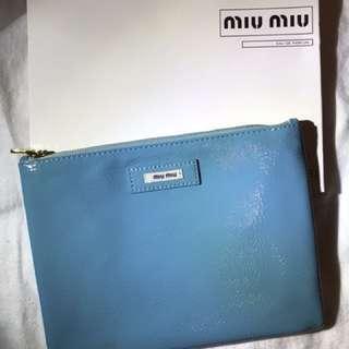 Miu Miu cosmetics bag