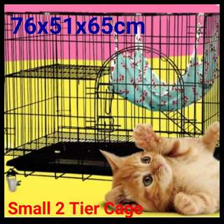 Brand new 2 tier cat cage - Cheapest Cage-24 hours Self collect