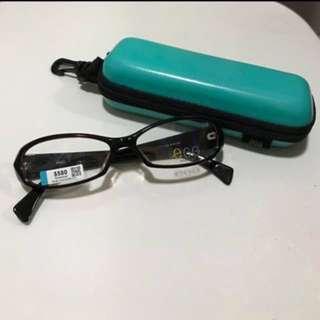 egg平光眼鏡(黑x紅框+紫x黑邊)✨全新✨(🌎可用物品/現金券交換,請看內文)