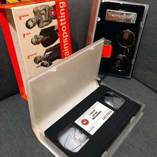 Trainspotting original VHS collectors edition