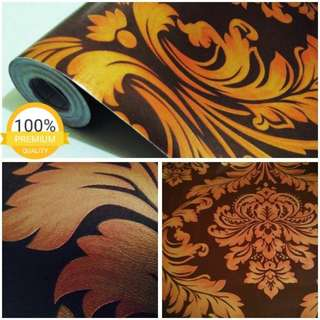 Wallpaper Motif Terbaru Batik & Garis2