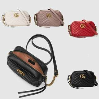 Gucci GG Marmont Matelasse Mini Bag